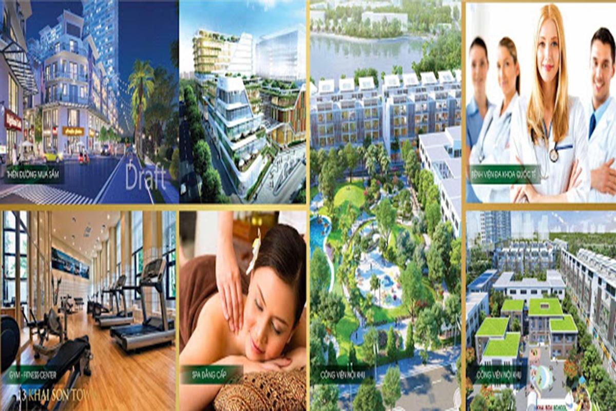 Tiện ích dự án Khai Sơn City Long Biển