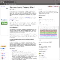 Web版PasswordCard