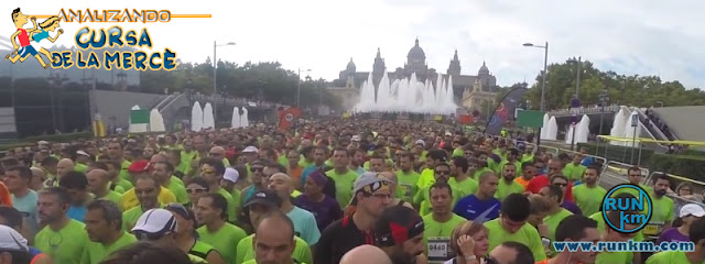 Avinguda de la Reina Maria Cristina - Analizando Cursa de la Mercè 2016