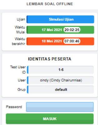Tutorial Mengerjakan Aplikasi CBT TCExam Secara Online dan Offline