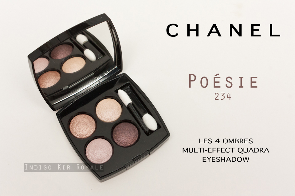 09ba7a62be CHANEL LES 4 OMBRES MULTI-EFFECT QUADRA EYESHADOW IN 'POÉSIE' (234 ...