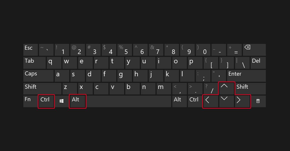 Cara Rotasi Layar Laptop atau Komputer Windows dengan Mudah