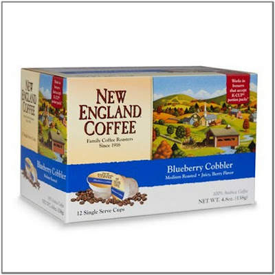 New England Coffee Blueberry Cobbler K Cups;New England Coffee K Cups;