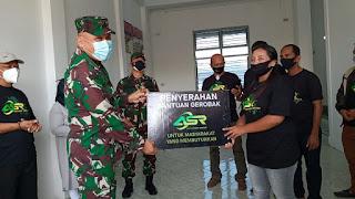 Gerobak ASR, Pangdam XIV/Hsn Dorong Wirausaha Warga Buton