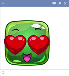 Hearts-for-Eyes Icon