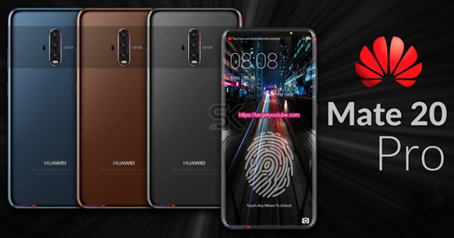Huawei Mate 20 Pro To Feature Dual Edge Curved OLED Display, 5 Cameras