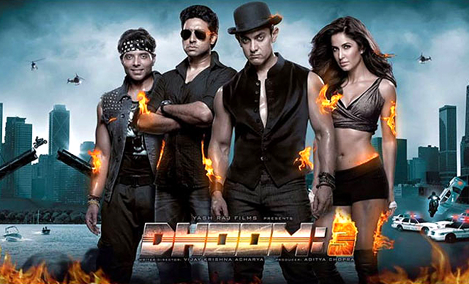 Aamir Khan Dhoom 3 all time highest-grossing film of Bollywood in overseas, It is collect $28,000,000 Crore and it budget (Cost) 125 Crores.