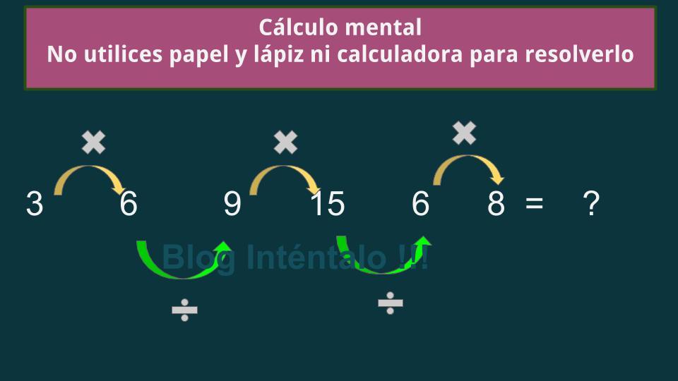 Ejercicios De Razonamiento Logico Matematico Intentalo