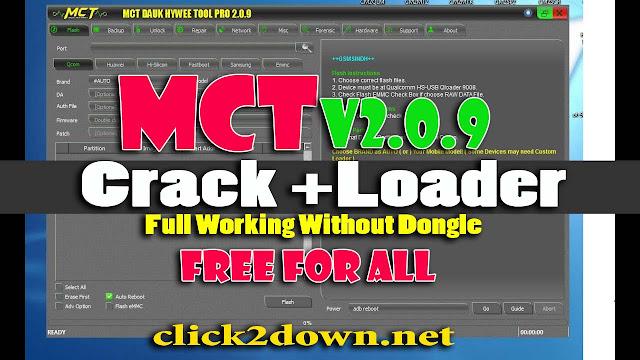 MCT Dongle Pro v2.1.0 Mod Setup+Loader Free Download