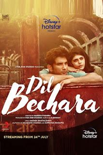 Dil Bechara 2020 Download 1080p WEBRip