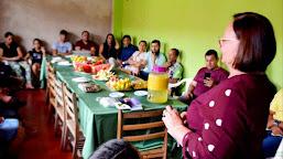 Vanda Milani vai buscar recursos para a construção de uma biblioteca em Xapuri