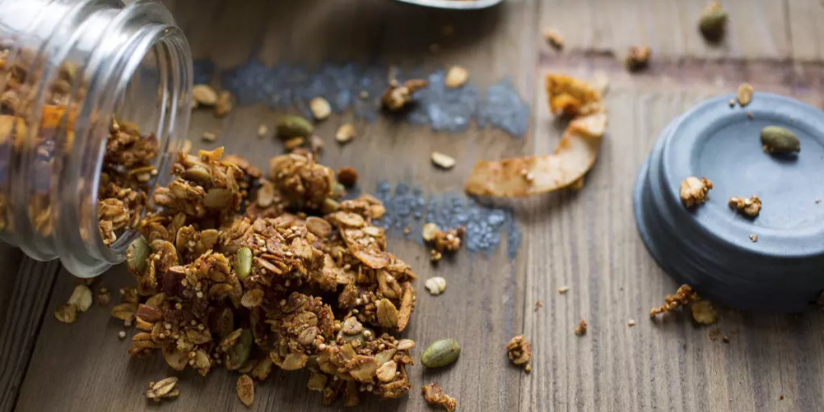 Molasses Granola Balls Dog Treats
