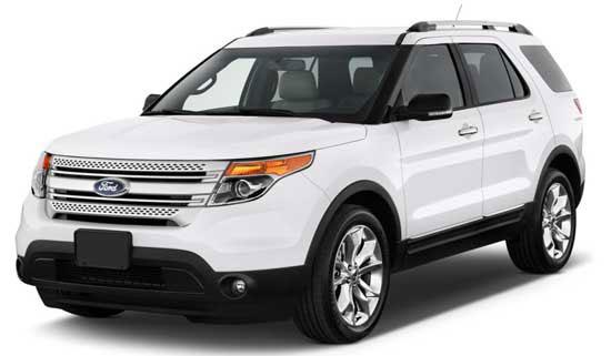 Ford Explorer Models Specifications  Car Models