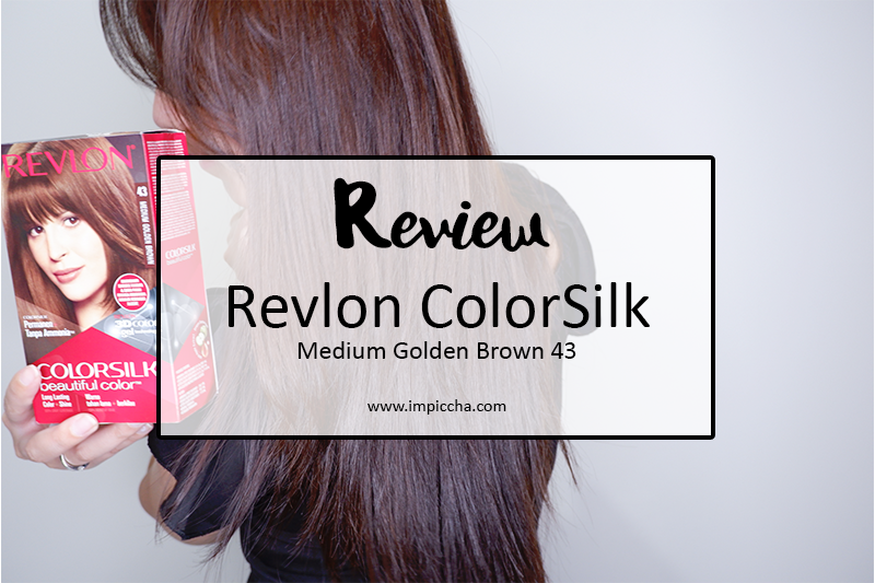 Revlon ColorSlik Medium Golden Brown 43