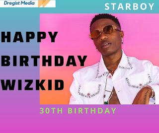 Happy Birthday wizkid
