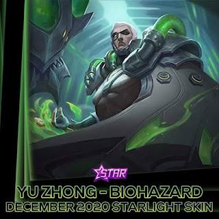 script skin starlight Yu Zhong Biohazard