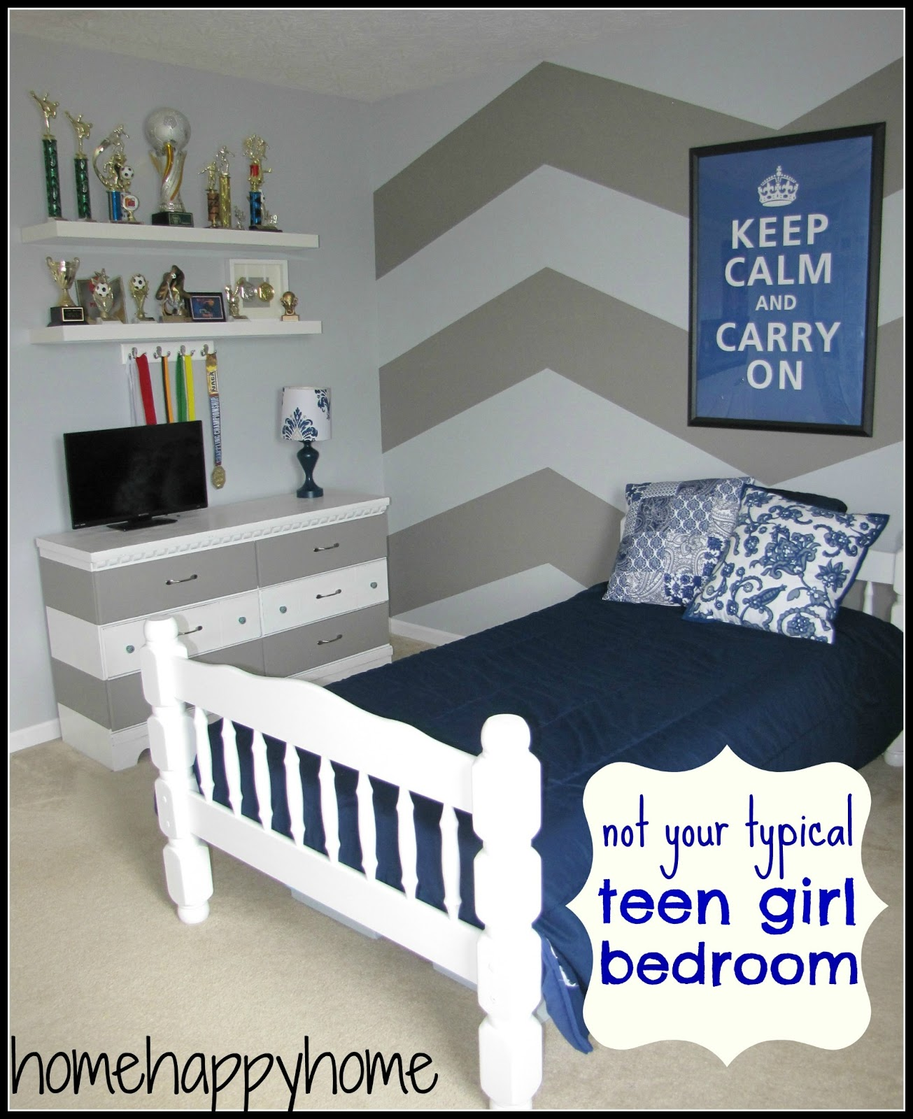 BookGirlCreations: Not your typical teen girl bedroom