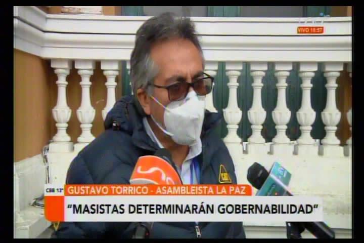 Torrico califica de BOLUDOS a la dirigencia del MAS por la derrota en balotaje