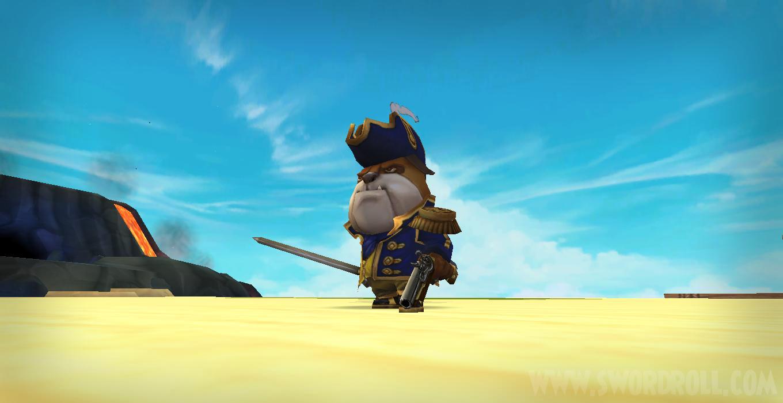 Pirate101 Admiral's Bundle Bulldog Companion