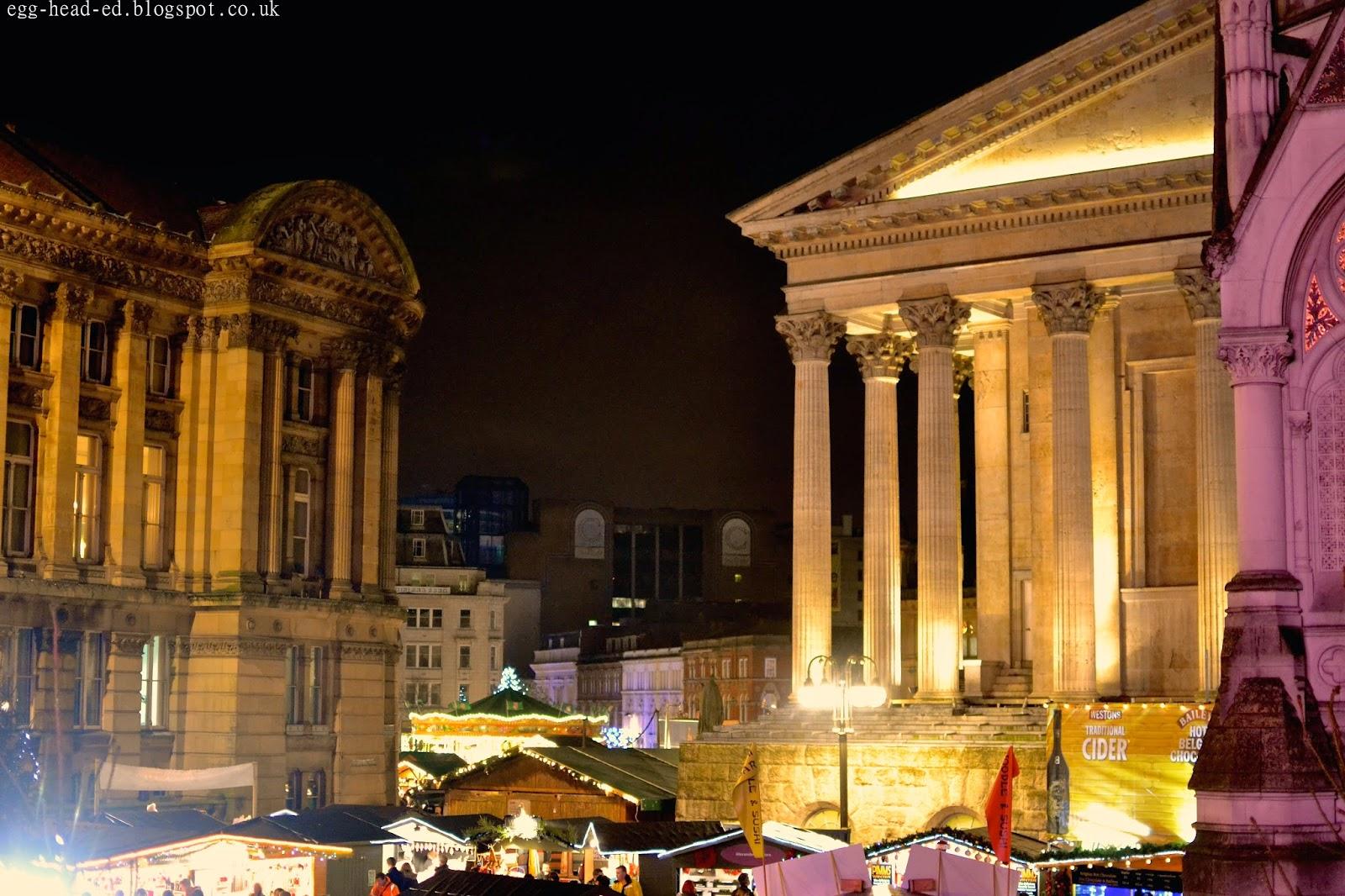 Birmingham Christmas Market Craft Stalls