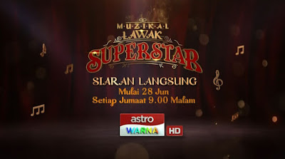 Live Streaming Muzikal Lawak Superstar 2019 Online