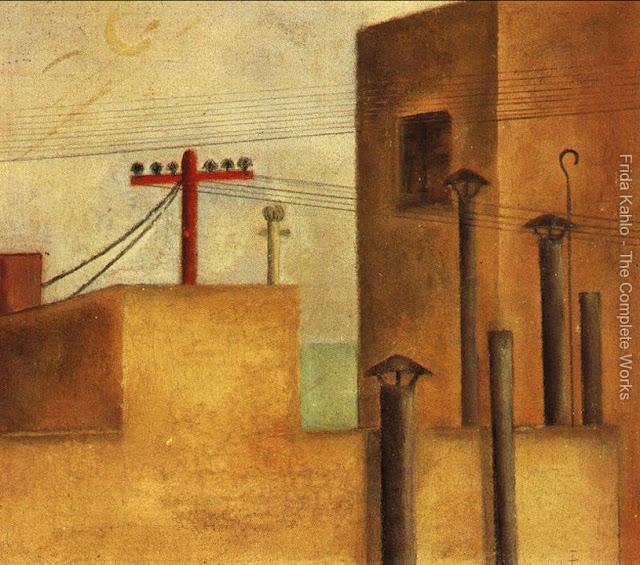 Фрида Кало - Городской ландшафт. 1925