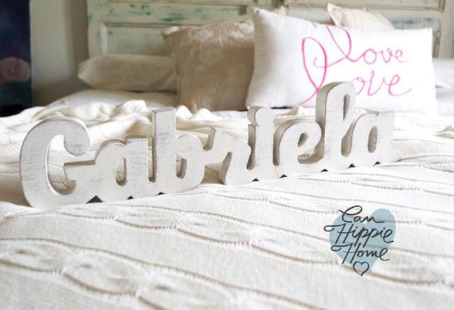 Artesanos de letras de madera: Can Hippie Home-21