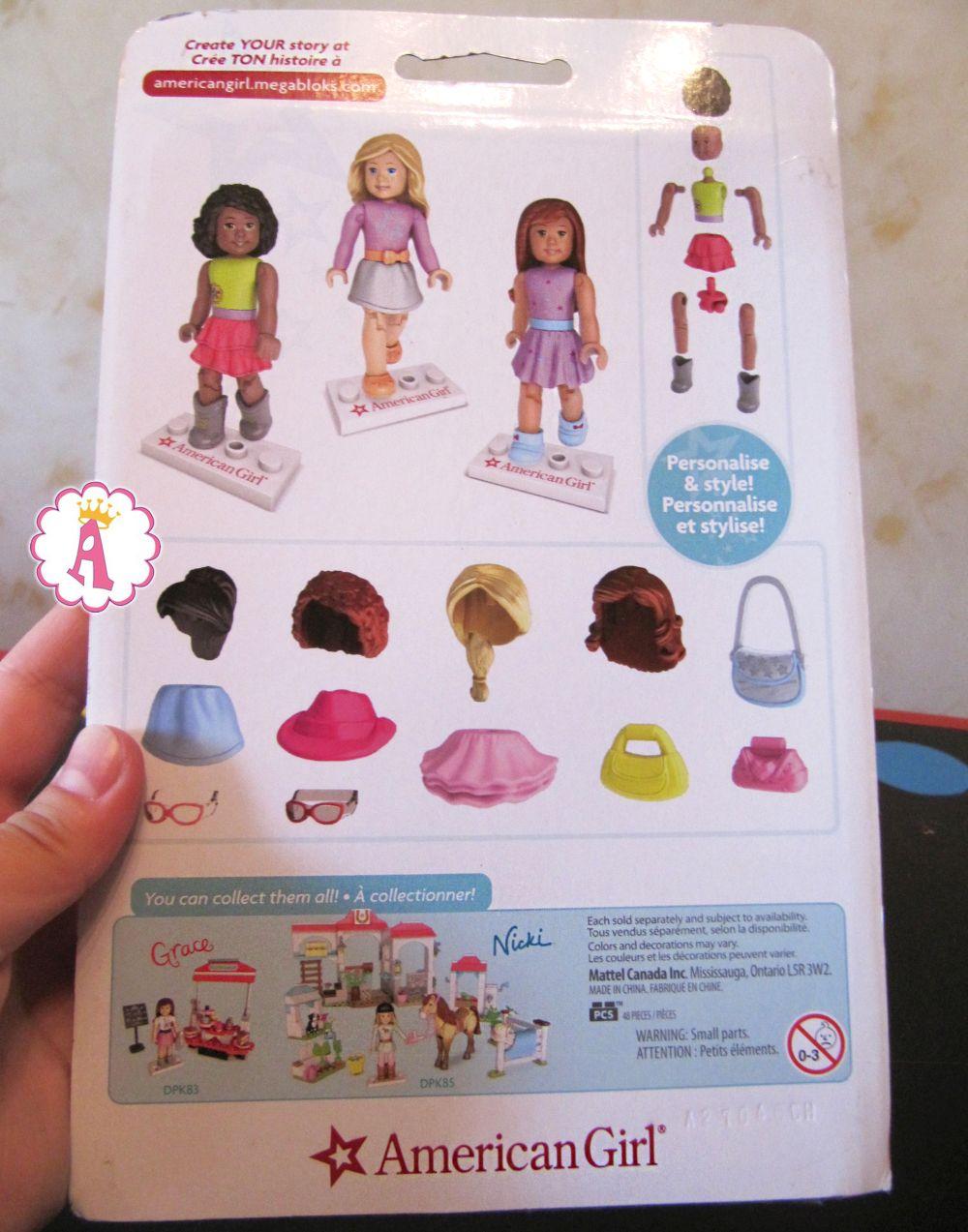 Фигурки кукол American Girl конструктор для девочек Mega Bloks