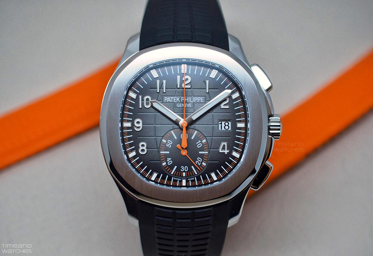 Patek philippe aquanaut chronograph ref 5968a 001 time and watches for Patek watches