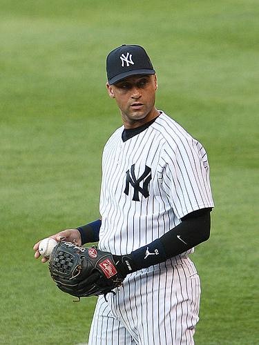Michael jordan derek jeter famous baseball player - Derek jeter wallpaper ...