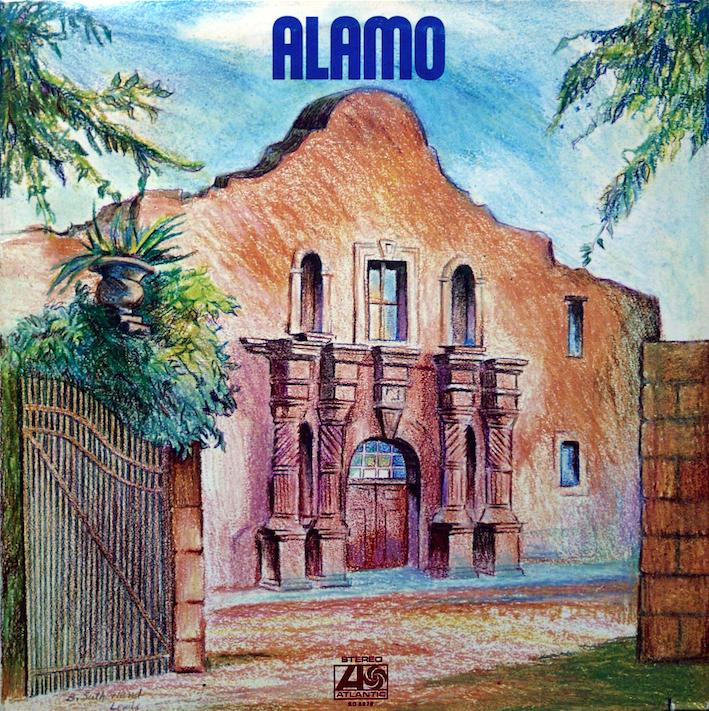 Alamo de 1971, y una ilustración sencilla que demuestra lo que hay dentro: rock crudo y polvoriento!.
