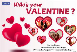 valentine day contest vivo
