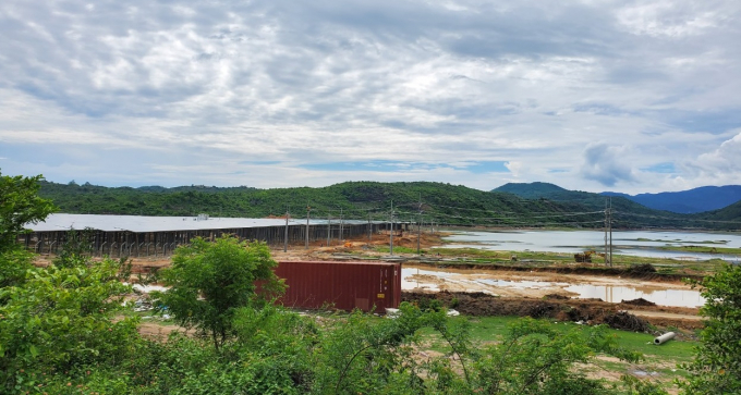 Dự án điện mặt trời ở Ninh Thuận vi phạm công trình thủy lợi