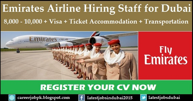 Emirates Group Careers and job vacancies in Dubai