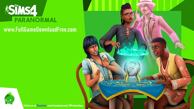 The Sims 4 Paranormal Stuff Pack