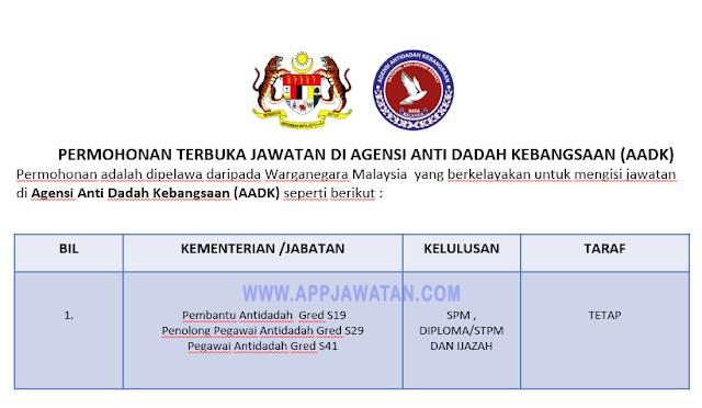 Agensi Anti Dadah Kebangsaan (AADK)