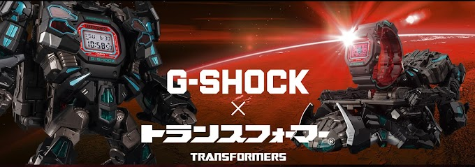 G-Shock Limited Edition Transformers  DW-5600TF19