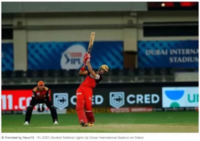IPL 2020: Devdutt Padikkal Lights Up Dubai International Stadium on Debut