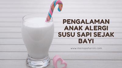 banner artikel tentang pengalaman merawat bayi alergi susu