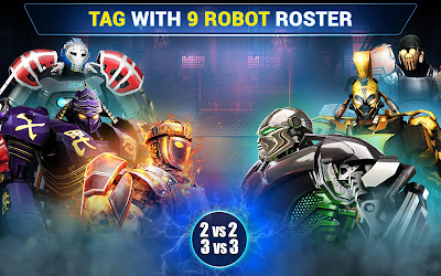 Real Steel Champions v1.0.195  Mod Apk (Mod Money)