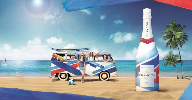 Summer with Chandon Limited Edition Bottle, Chandon Brut, Chandon Limited Edition Bottle