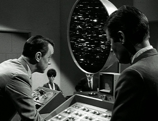 Dr. Scott demonstrates O.B.I.T. to Senator Orville, The Outer Limits, 1963
