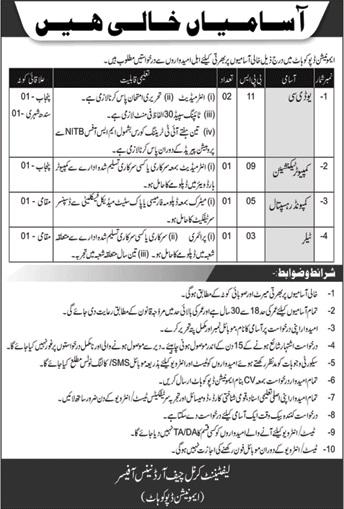 Pakistan Army Latest Jobs May 2020 | Ammunition Depot