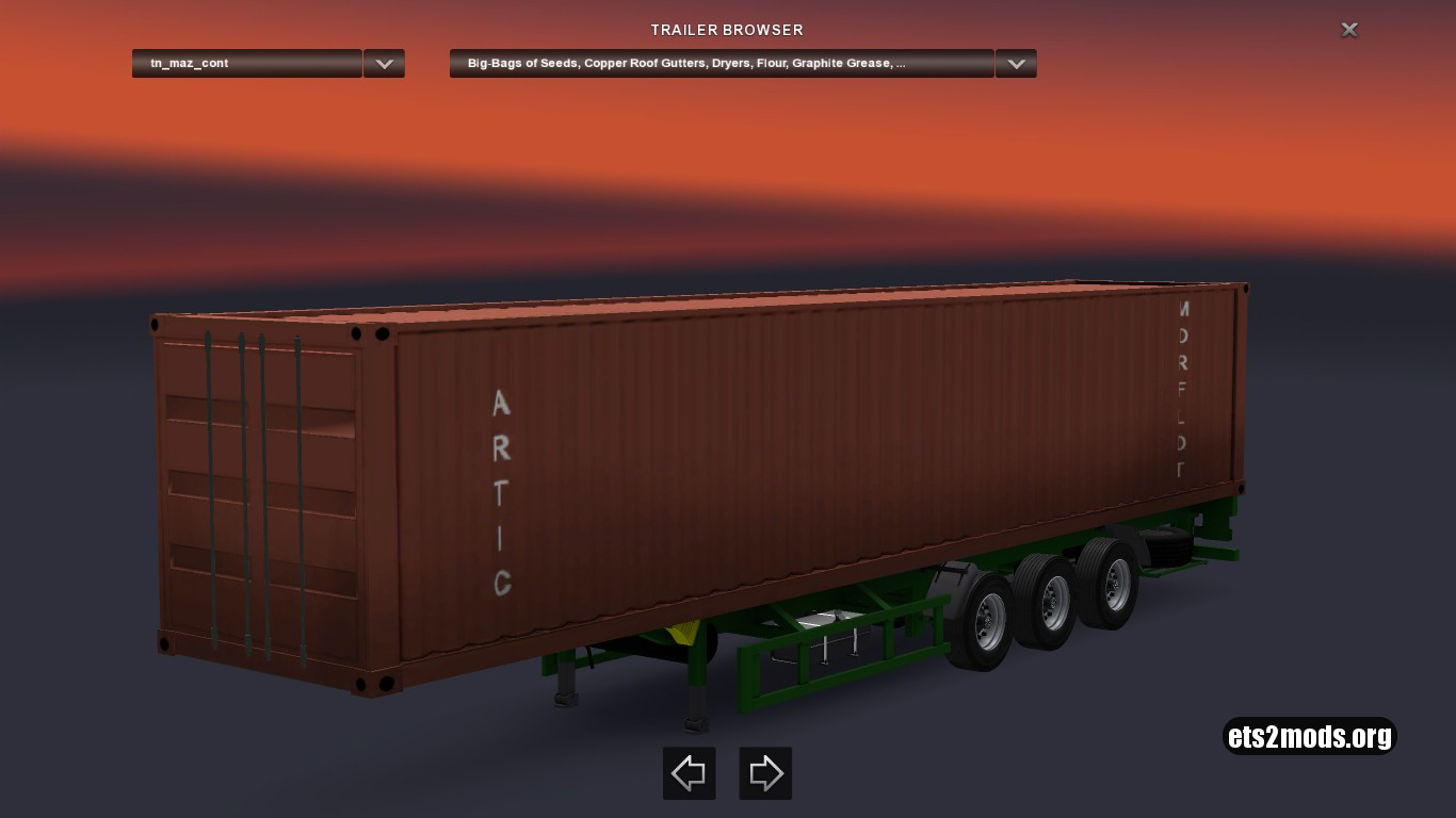 Standalone Maz Container