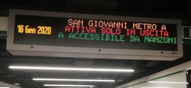 Il nodo di scambio di San Giovanni