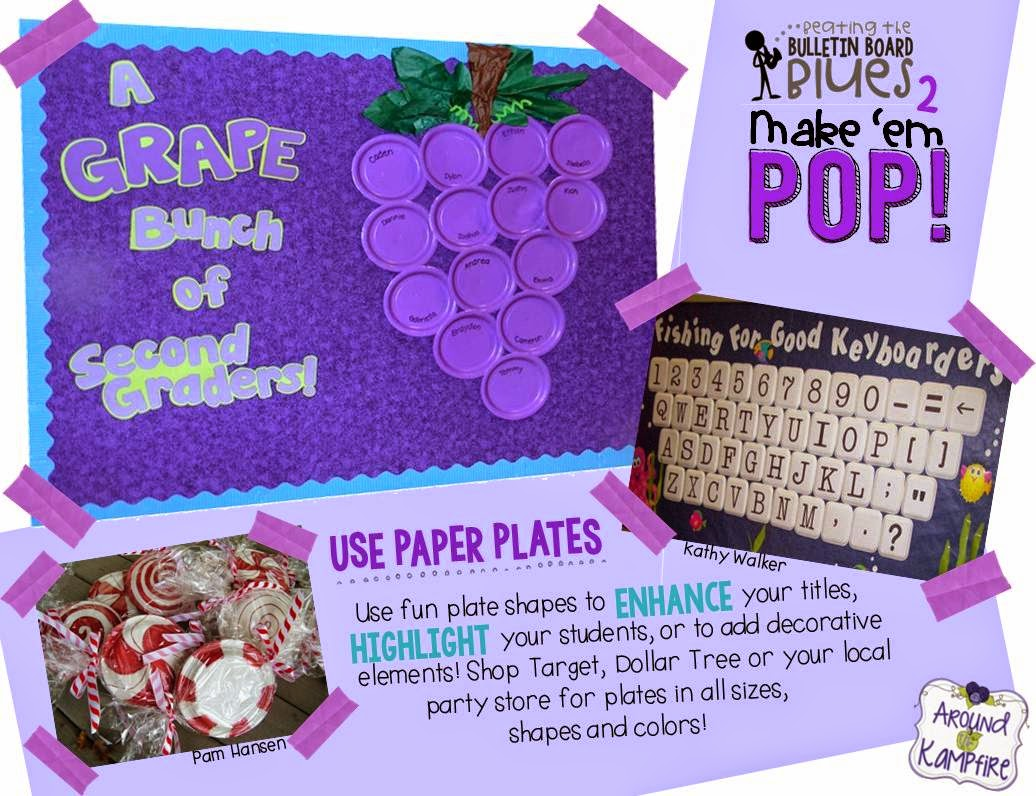 This teacher has loads of great ideas for making your bulletin boards really stand out!