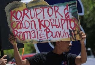 Satu Tahun Jokowi-Ma'ruf Amin, Pemberantasan Korupsi Dapat Rapor Merah