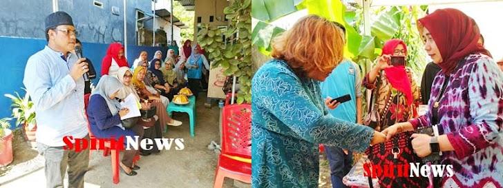 Ketua TP PKK Makassar, Berkunjung Kel Barombong Melihat Langsung Hasil Karya Pelaku UKM