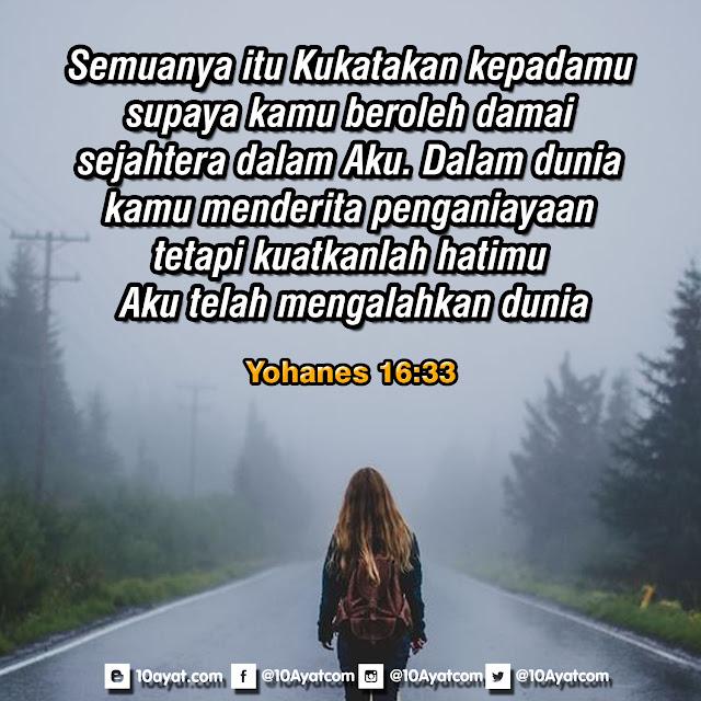 Yohanes 16:33
