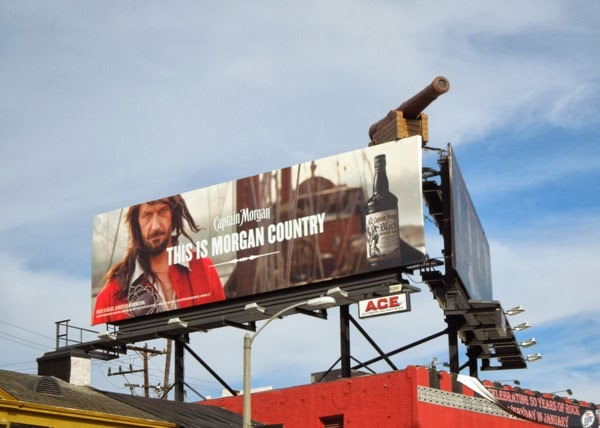 Captain Morgan This is Morgan Country billboard
